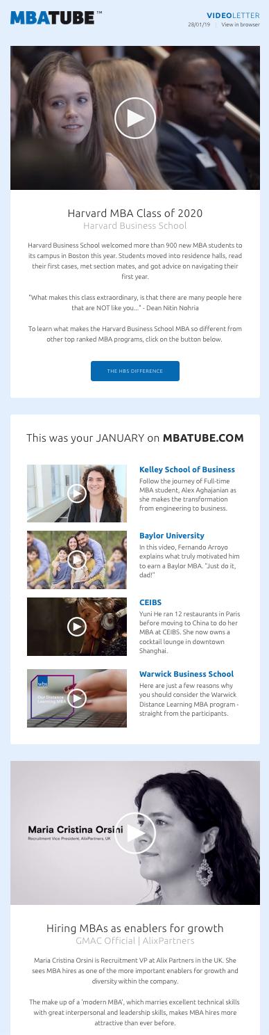 Videoletter January 2019
