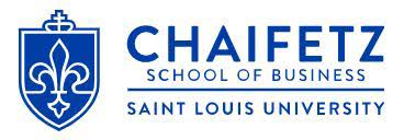 Chaifetz School of Business Saint Louis University